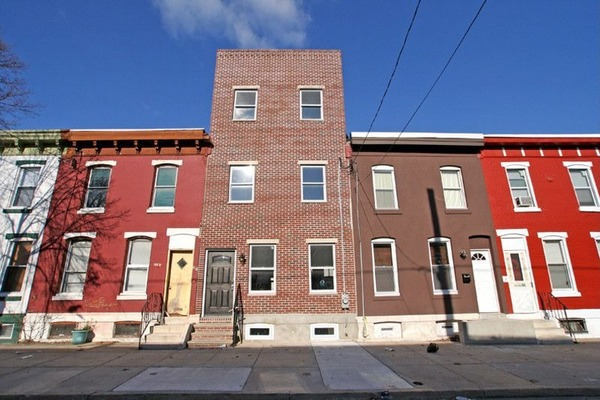 Point Breeze Rowhome view from the Street - Courtesy of Curbed